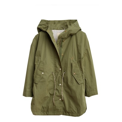Bellerose Lisse Hooded Parka with Flecked Interior-listing