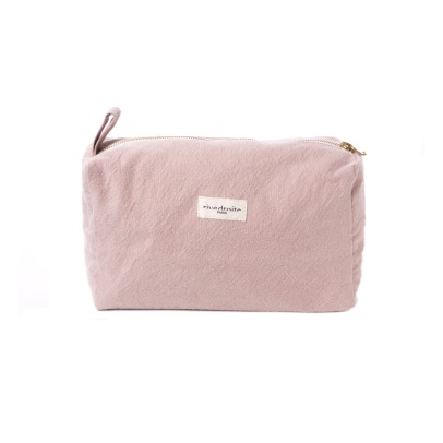 Rive Droite Alma Recycled Cotton Toiletry Bag-listing