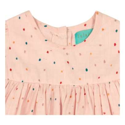 Lulaland Rebecca Organic Cotton Dot Dress-listing
