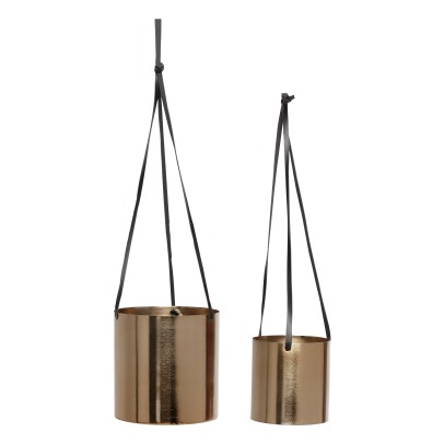 Hübsch Hanging Planters - Set of 2 -listing