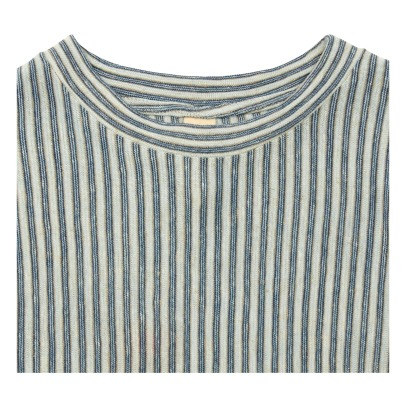 Bellerose Camel Striped T-Shirt-product