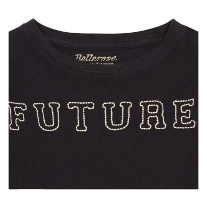 "Bellerose Vigo81 ""Future"" Embroidered T-Shirt-listing"