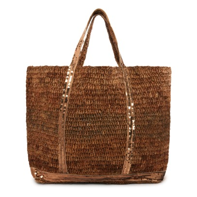 Vanessa Bruno Sequin Raphia Medium+ Shopper-listing