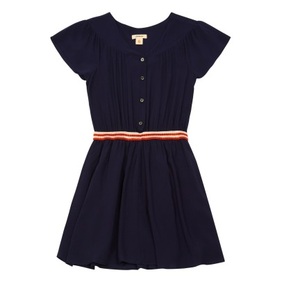 Bellerose Alies Elasticated Waist Buttoned Dress-listing