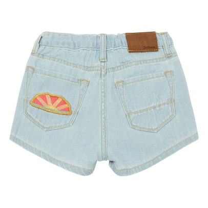 Bellerose Petite81 Patch Denim Shorts-listing