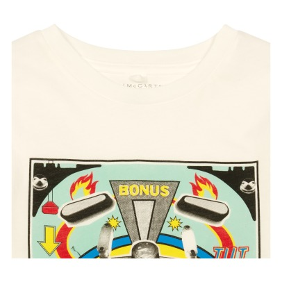 Stella McCartney Kids Arrow Flipper Organic Cotton T-Shirt-listing
