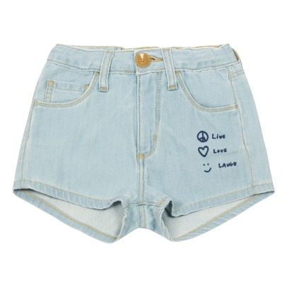 Bellerose Petite81 Patch Denim Shorts-product
