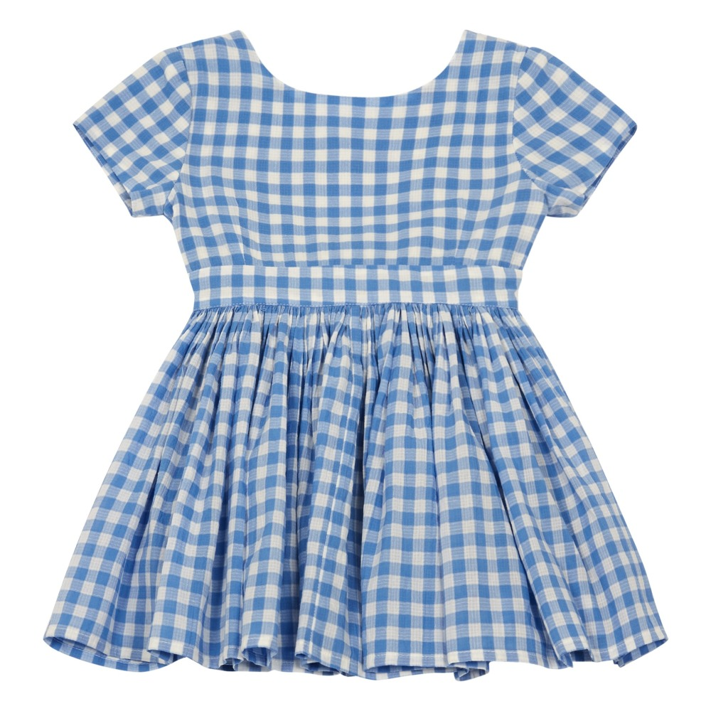 Kleid Harper Blau Morley Mode Teenager , Kind