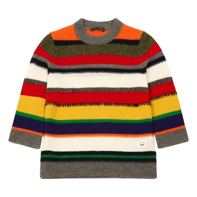 Acne Studios Mini Nimah Knit Striped Jumper-listing