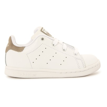 Adidas Stan Smith Phosphorescent Lace-Up Leather Trainers-listing