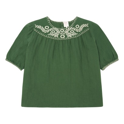Little Karl Marc John Bluse mit Stickerei Chiapy-listing