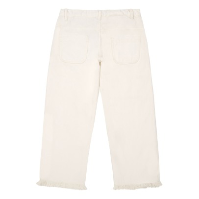 Polder Girl Diego Fringed Trousers-listing