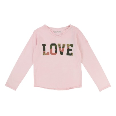 Zadig & Voltaire T-Shirt Col Tunisien Love Boxo-product