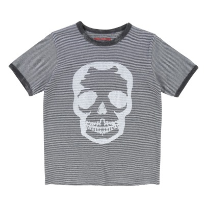 Zadig & Voltaire Jack Striped Skull T-shirt -listing
