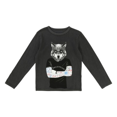 Zadig & Voltaire T-Shirt Loup Kita-listing