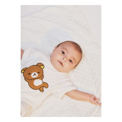 Milk on the Rocks Boston Rilakkuma Sweat Jumpsuit-listing