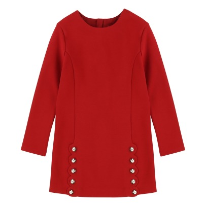 Chloé Engraved Buttons Milano Straight Dress-listing