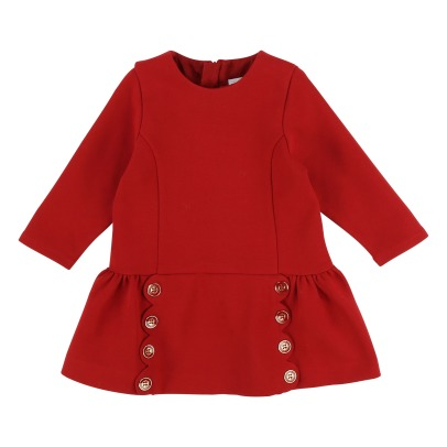 Chloé Engraved Buttons Milano Dress-listing