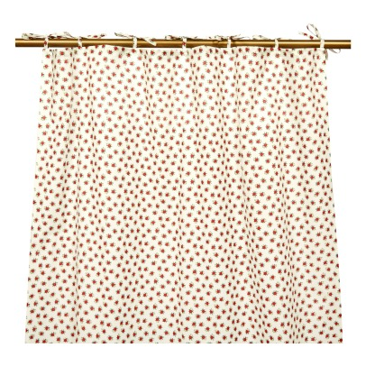 Le Petit Lucas du Tertre Flower Mini Matisse Cotton Curtain 115x250cm-listing