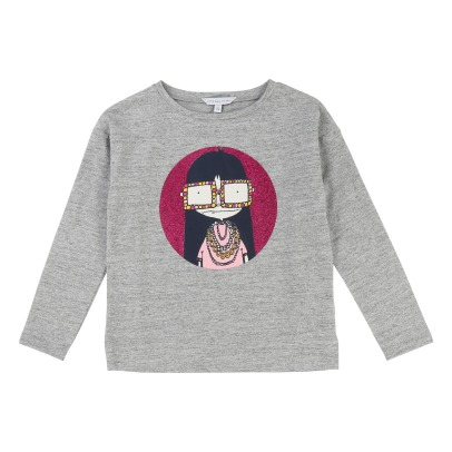 Little Marc Jacobs T-Shirt Miss Marc Paillettes-listing