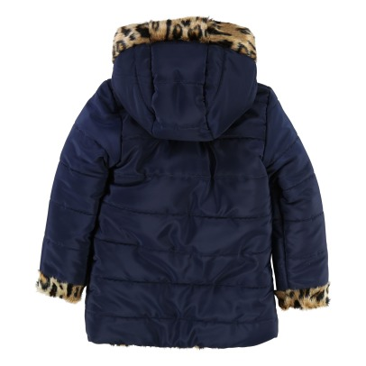 Little Marc Jacobs Anorak Reversible Leopardo -listing