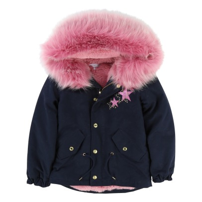 Little Marc Jacobs Waterproof Fur Lined Parka -listing