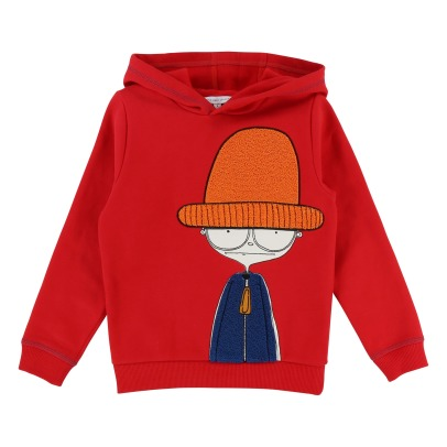 Little Marc Jacobs Mister Marc Hat Hoodie-product