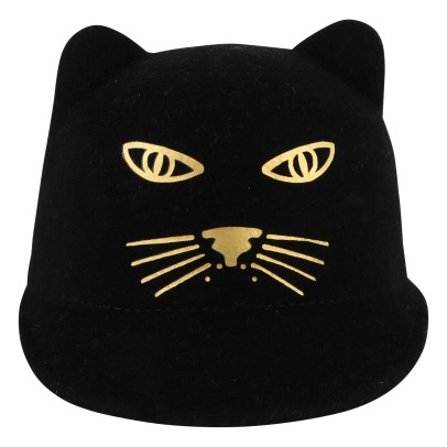 Little Marc Jacobs Felt Lined Panther Hat -product