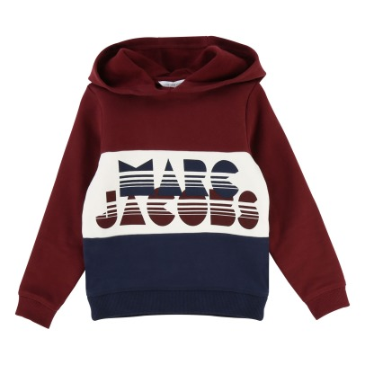 Little Marc Jacobs Marc Jacoks Two-Tone Hoodie-product