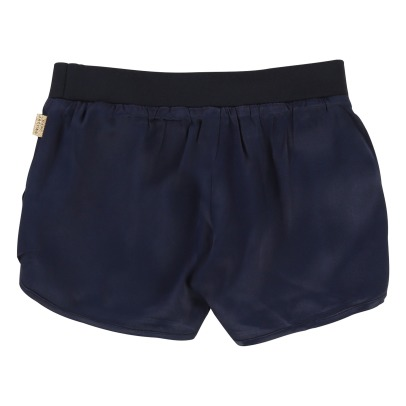 Little Marc Jacobs Satin Leopard Reversible Shorts-product