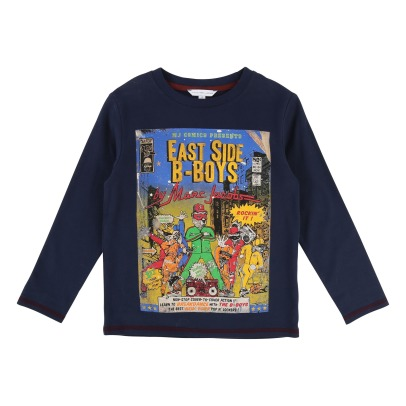 Little Marc Jacobs Camiseta East Side B-Boys-listing