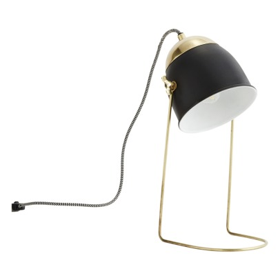 Madam Stoltz Metal Table Lamp-listing