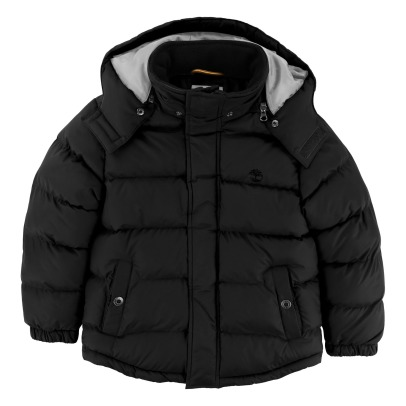 Timberland Waterproof Down Jacket With Removable Hood-listing