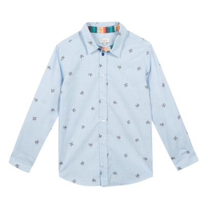 Paul Smith Junior Camisa Cosmonautas Bordados Shayden-listing
