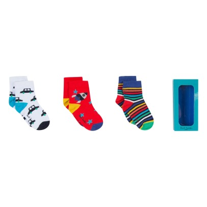 Paul Smith Junior Lot 3 Paires Chaussettes Sevan-product