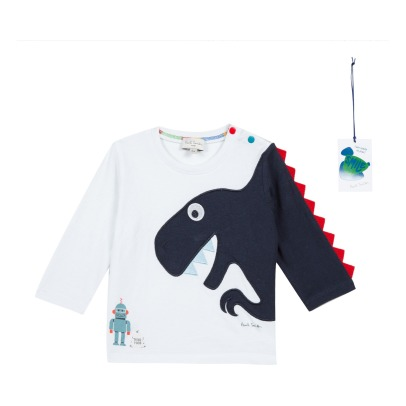 Paul Smith Junior T-Shirt Dinosaure Shay-product