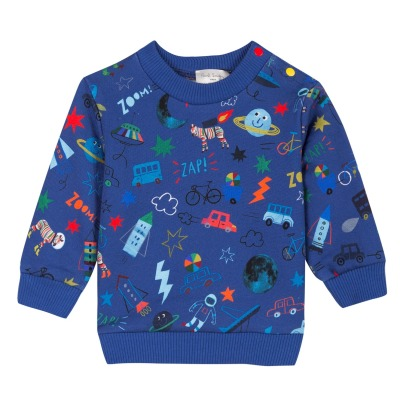Paul Smith Junior Stephon All-Over Sweatshirt -listing