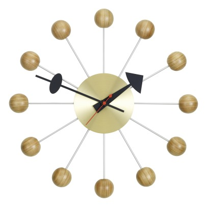 Vitra Ball Clock - George Nelson, 1948-1960-listing