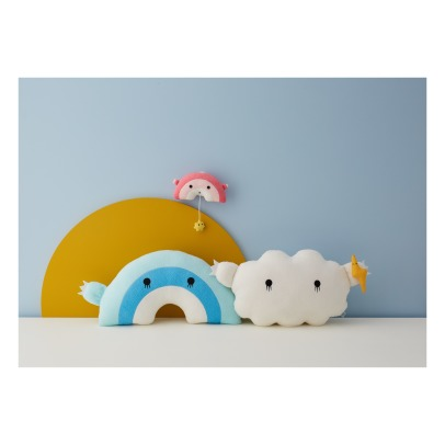 Noodoll Cloud and Lightning Bolt Cuddly Toy 24x45cm-listing