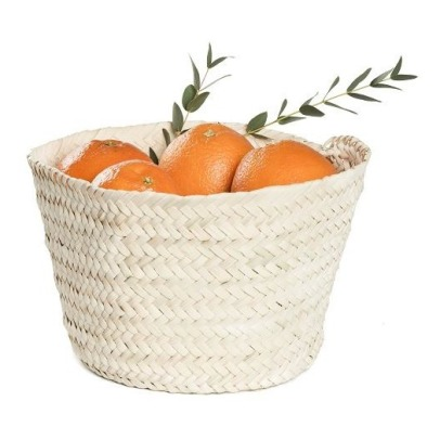 Smallable Home Palm Leaf Basket-listing