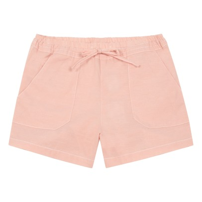 Little Karl Marc John Shorts Chambray con tasche -listing