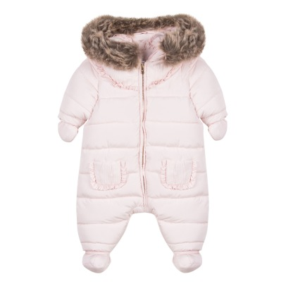 Tartine et Chocolat Faux-fur Hooded Snowsuit-listing