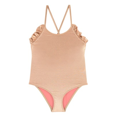 Lison Paris Ruffled Back 1 Piece Swimsuit-listing