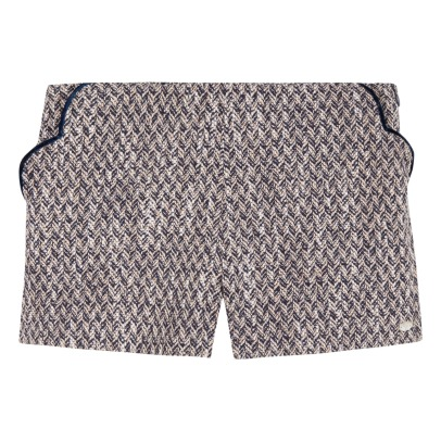 Tartine et Chocolat Wool and Cotton Shorts -listing