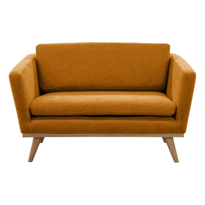 Red Edition 120 Sofa -  Oak Wood Base, Fabric -listing
