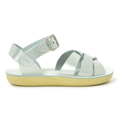 Salt-Water Swimmer Waterproof Leather Sandals-listing