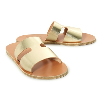Ancient Greek Sandals Apteros Leather Flip-Flops-listing