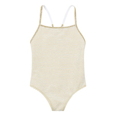 La Nouvelle Babe Georgia Striped 1 Piece Swimsuit - Children's Collection-listing