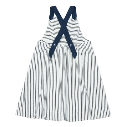 Oaks of acorn Rachael Striped Pinafore Dress-listing