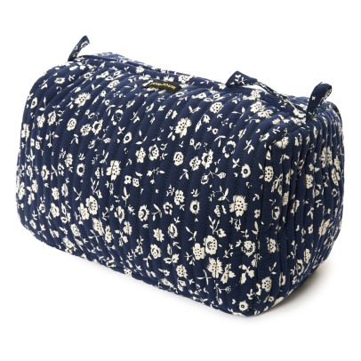 Bonjour Floral Quilted Toiletry Bag-listing